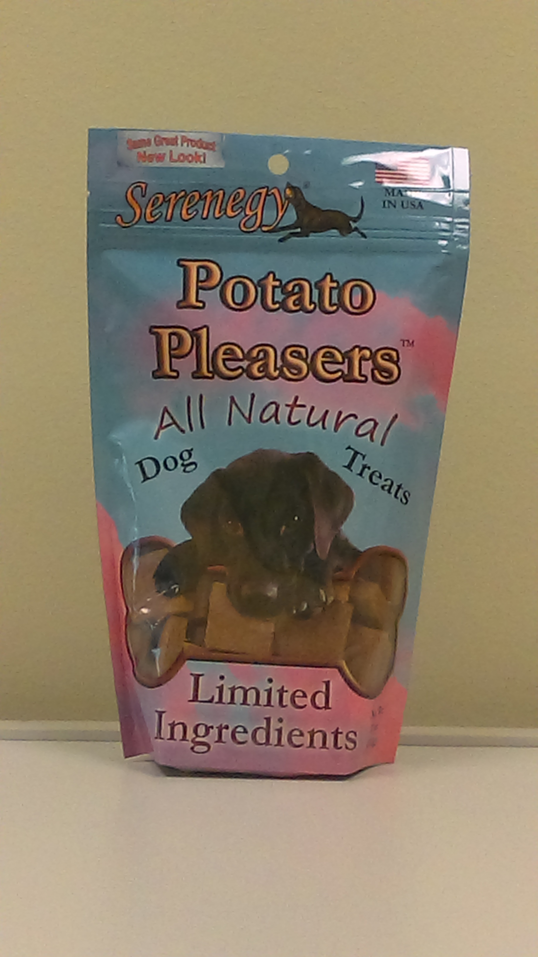 Dogs just love the Potato Pleasers!